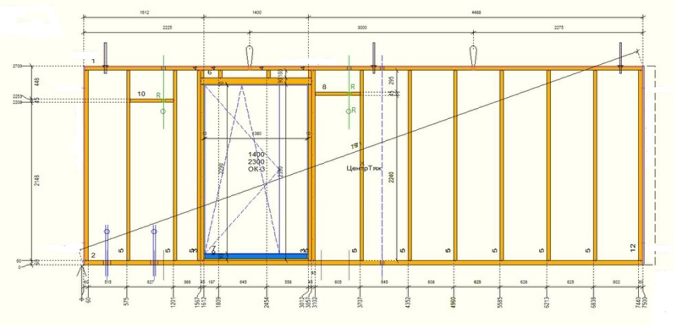 Каркасное строительство домов из дерева