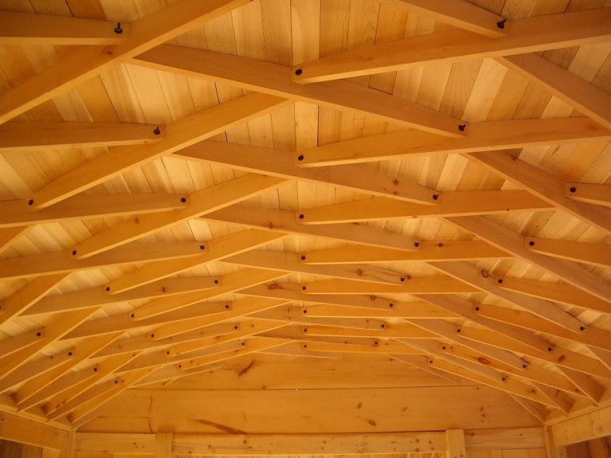 крыша ламельная